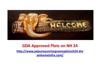 Residential GDA Approved Plots