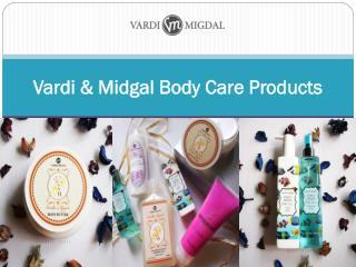 Vardi & Midgal Body Care Products