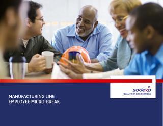 Manufacturing Line Employee Micro-Break