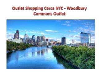 Outlet Shopping Cerca NYC - Woodbury Commons Outlet