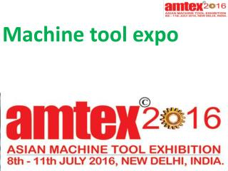 Machine tool expo