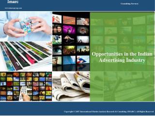 Indian Advertising Industry: Opportunities for Entrepreneurs