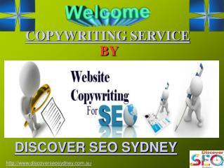 Copywriting Services | Discover SEO Sydney