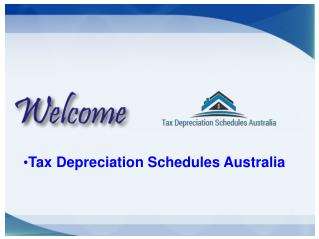 Tax Depreciation Schedules Australia used for House Depreciation.