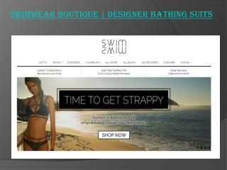 Swimwear Boutique | Designer Bathing Suits