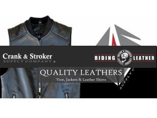 Ladies Denim Motorcycle Vest