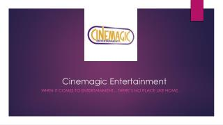 Cinemagic Entertainment Handbook