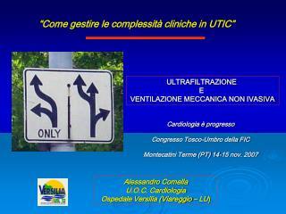 Come gestire le complessit  cliniche in UTIC