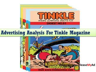Tinkle Magazine Advertisement