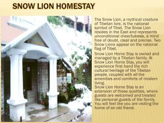 Snowline Homestay