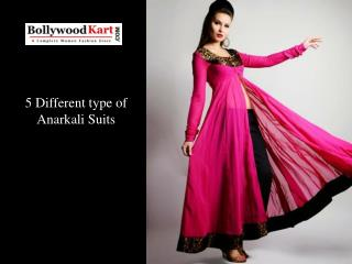 5 Different type of Anarkali Suits