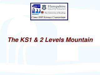 The KS1  2 Levels Mountain