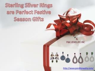 Sterling Silver Rings are Perfect Festive Season Gifts