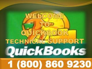 QuickBooks customer Support\Service @ 1-800-860-9230