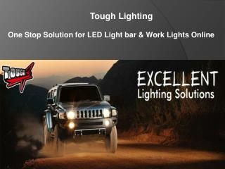 Led Work Bar Lights by Tough Lighting