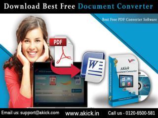 Online PDF to Word Converter - AKick