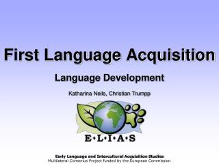 First Language Acquisition Language Development
