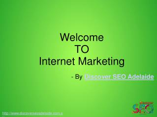 Internet Marketing Service offer by Discover SEO Adelaide