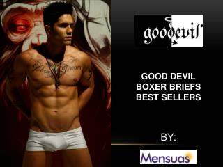 Good Devil Boxer Briefs Best Seller