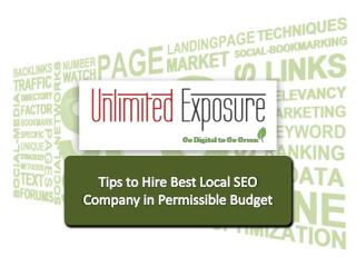 Tips to Hire Best Local Seo Company in Permissible Budget