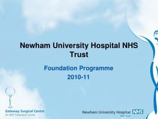 Newham University Hospital NHS Trust