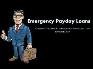 Payday Loans: Quick Financial Assistance For People To Eradicate The Unexpected Financial Crisis