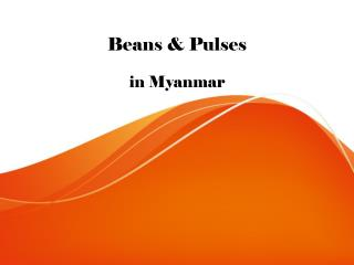Beans & Grains in Myanmar