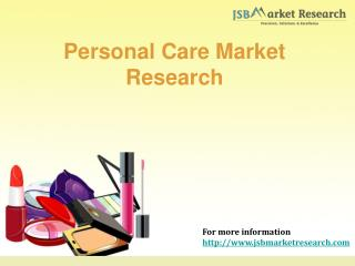 Personal Care Market Research