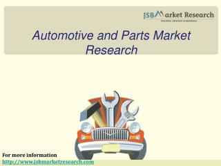 Automotive and Parts Market Research