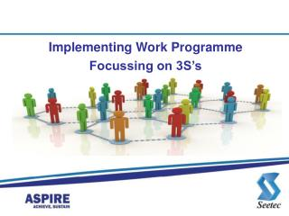Implementing Work Programme  Focussing on 3S s