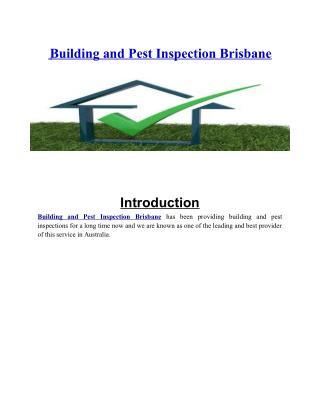 Building and Pest Inspection Brisbane | Asbestos Audit Report