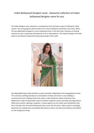 Indian Bollywood Designer saree.pdf