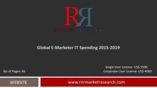 E-Marketer IT Spending Market Development & Industry Challenges 2019