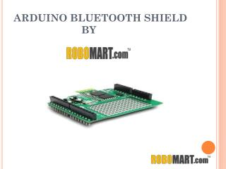 Buy Arduino Bluetooth Shield by Robomart