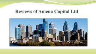 Reviews of amena capital ltd