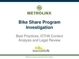 Bike Share Program Investigation