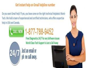 #1-877-788-9452 & Gmail customer support