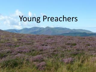 Young Preachers