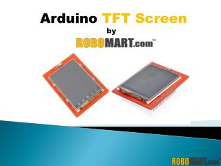 Buy Arduino TFT Screen by Robomart