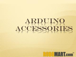Buy Arduino Accessories by Robomart