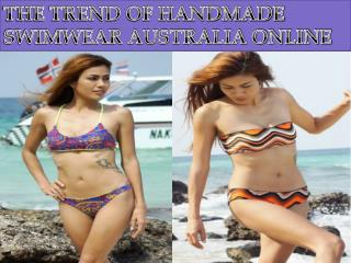 The Trend of Handmade Swimwear Australia Online Shopping