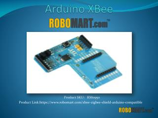 Buy Arduino XBee by Robomart