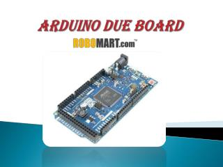 Buy Arduino Due India by Robomart