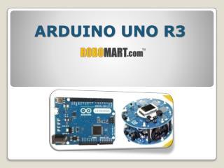 Arduino UNO R3 Buy India by Robomart