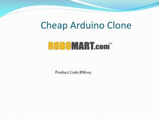 Cheap Arduino Clone By Robomart