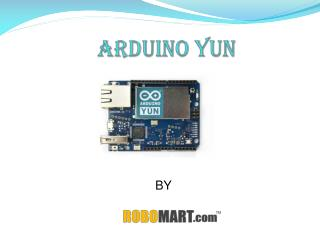 Buy Arduino Yun India-Robomart