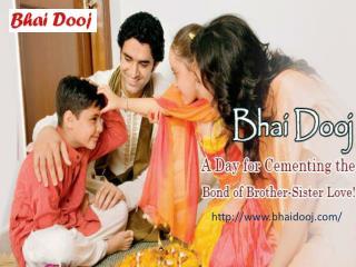 Send bhai dooj tikka to india ! bhaidooj.com