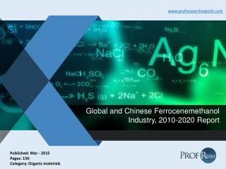 Global and Chinese Ferrocenemethanol Industry Share, Market Size 2010-2020