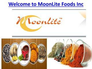 Welcome to MoonLite Foods Inc presentation