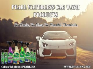 The Effective and Safe Car Cleaning Product from Pearl Waterless